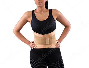Neoprene Lumborsacral Corset with Hard Bar