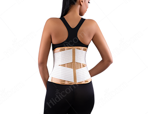Elastic Lumbosacral Corset soft bar or hard bar