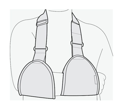 Arm Sling ( Two Pieces )