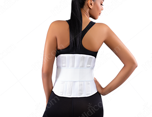 Lumbosacral Corset With Hard Bar 05