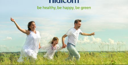 Hidicom - be Helthy, be Happy, be Green